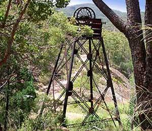 Vucan Mine near Irvinebank